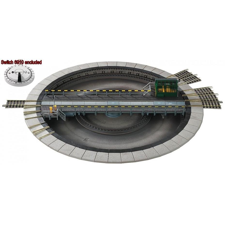 FLEISCHMANN - 6152 - Turntable electric HO Scale