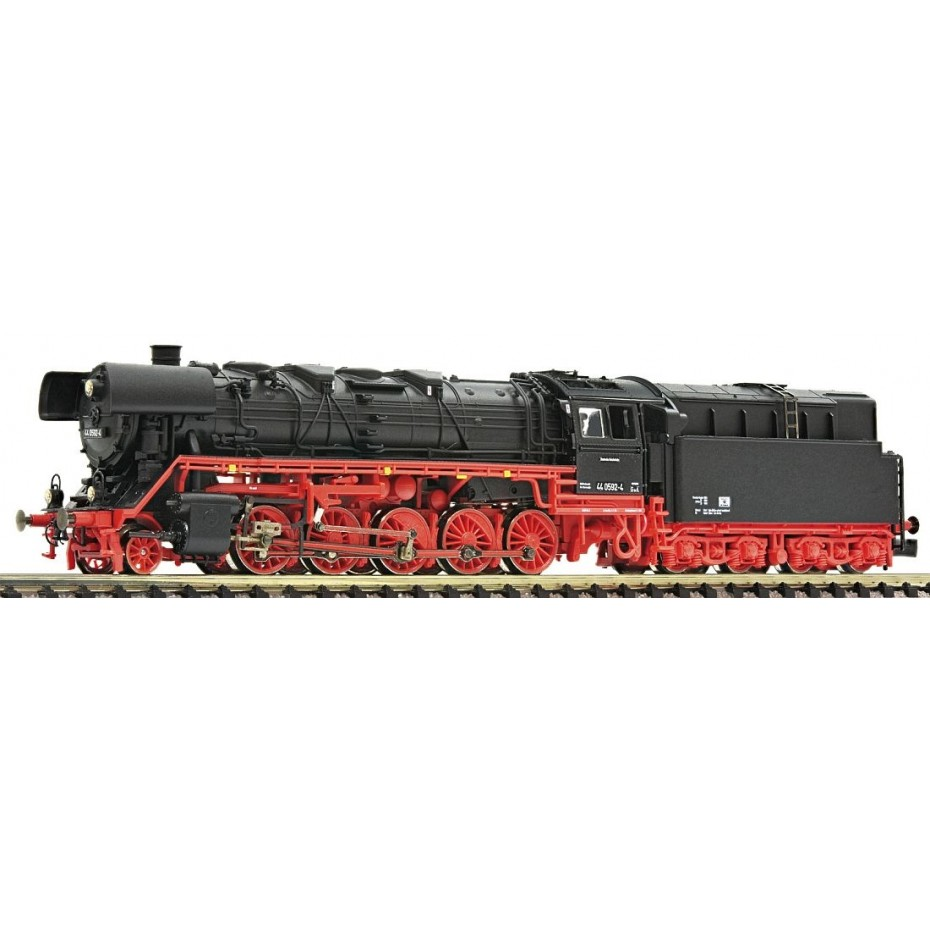 FLEISCHMANN - 714472 - Steam loco cl.44.0+ oil tender DR ep.IV DR N Scale
