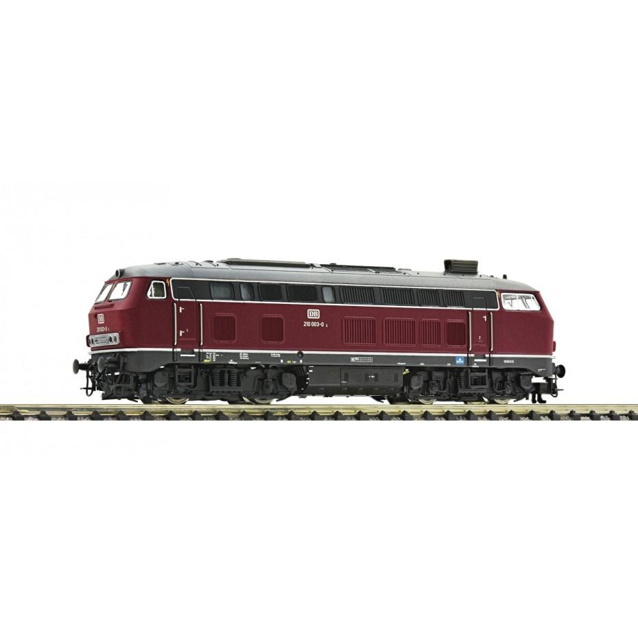 Fleischmann - 724290 - Diesel locomotive class 210 with gas turbine drive DB ep.IV N Scale DCC SOUND