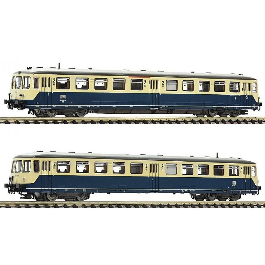 Fleischmann - 740101 - Accumulator rail car class 515 with control cab coach DB EP.IV DCC ready Next18 (N scale)
