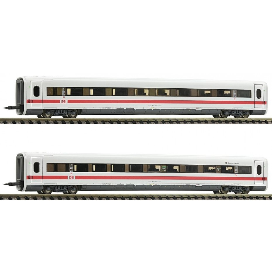 FLEISCHMANN - 744302 - 2pc.complementary set for the ICE 1 (part 2 ep.VI DB-AG N Scale