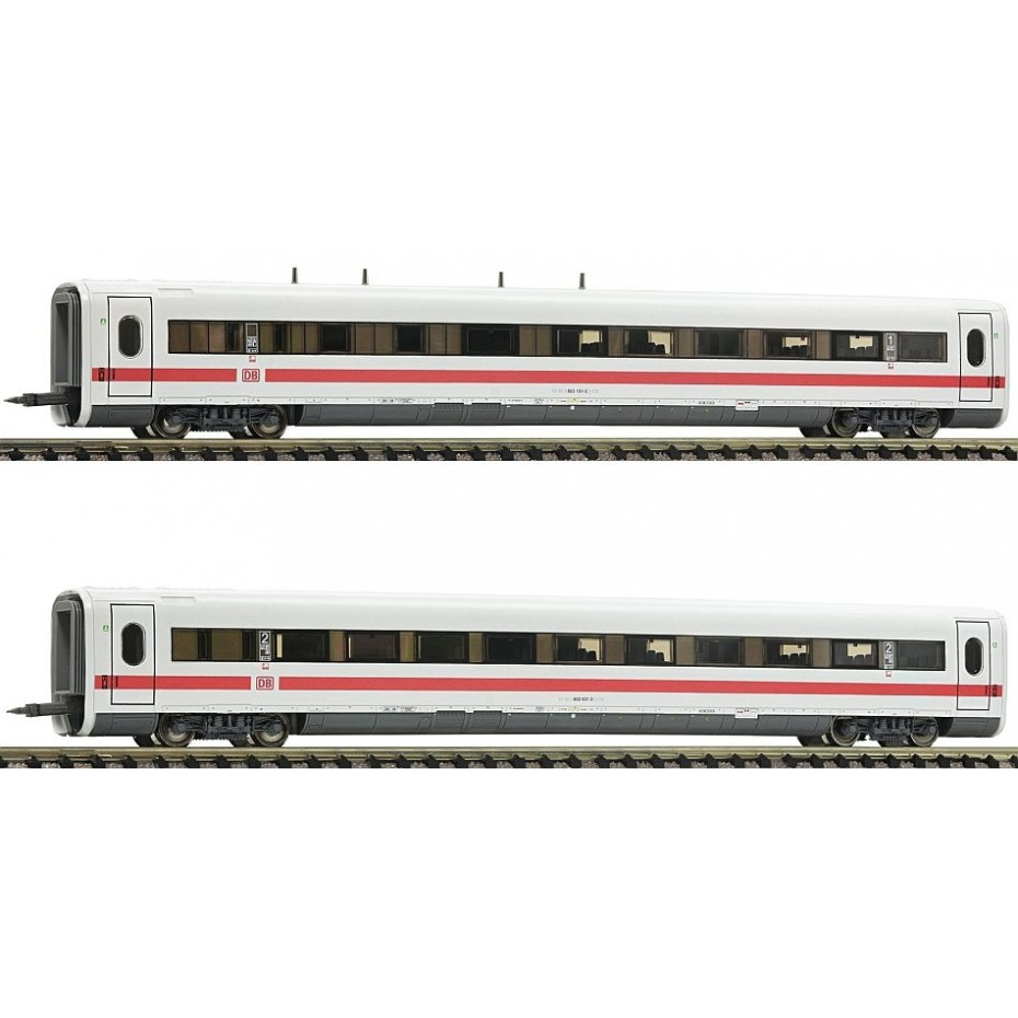 FLEISCHMANN - 744502 - 2pc.complementary set for the ICE 1 (part 3 ep.VI DB-AG N Scale