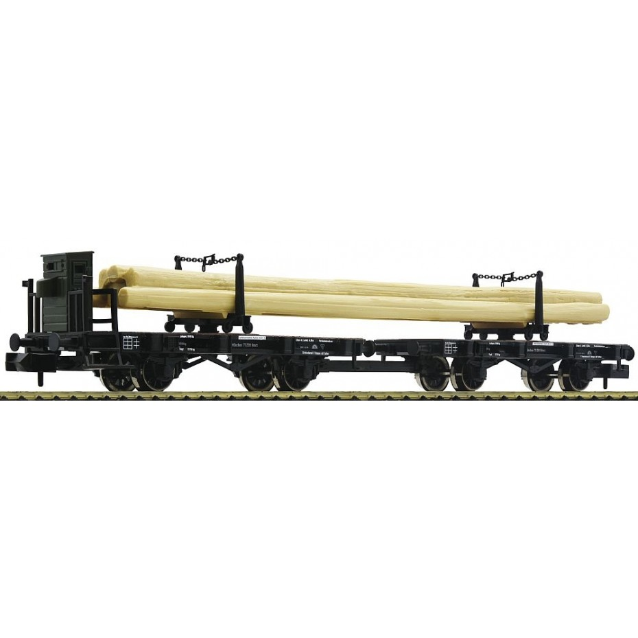 FLEISCHMANN - 822301 - Swivelling bolster wagon combination type H ep.I KBSB N Scale