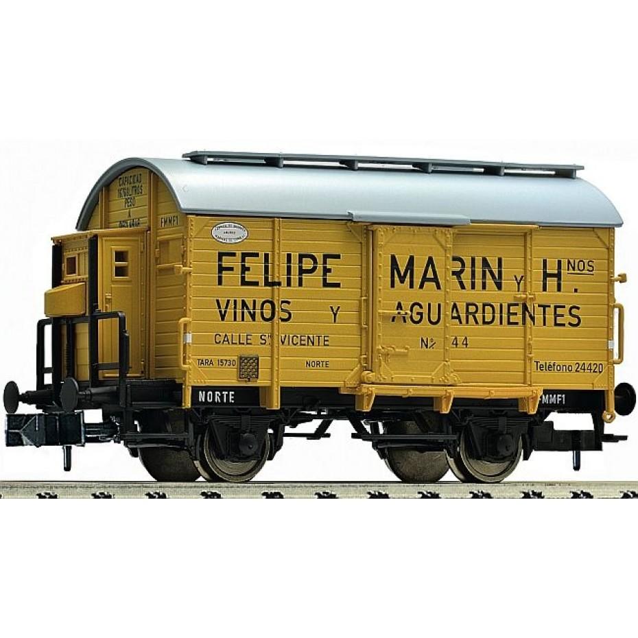 Fleischmann - 845707 - Wine barrel tank wagon Felipe Marin Norte N Norte Ep. II DC