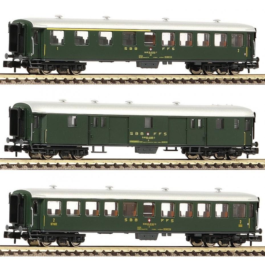 FLEISCHMANN - 881813 - Passenger Coach - SBB - N Gauge - Ep IV