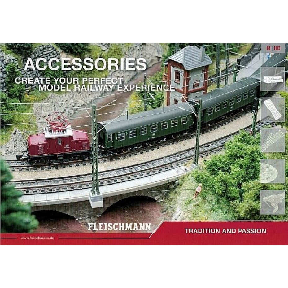 FLEISCHMANN - 19622 Accessories Catalogue HO N Gauges