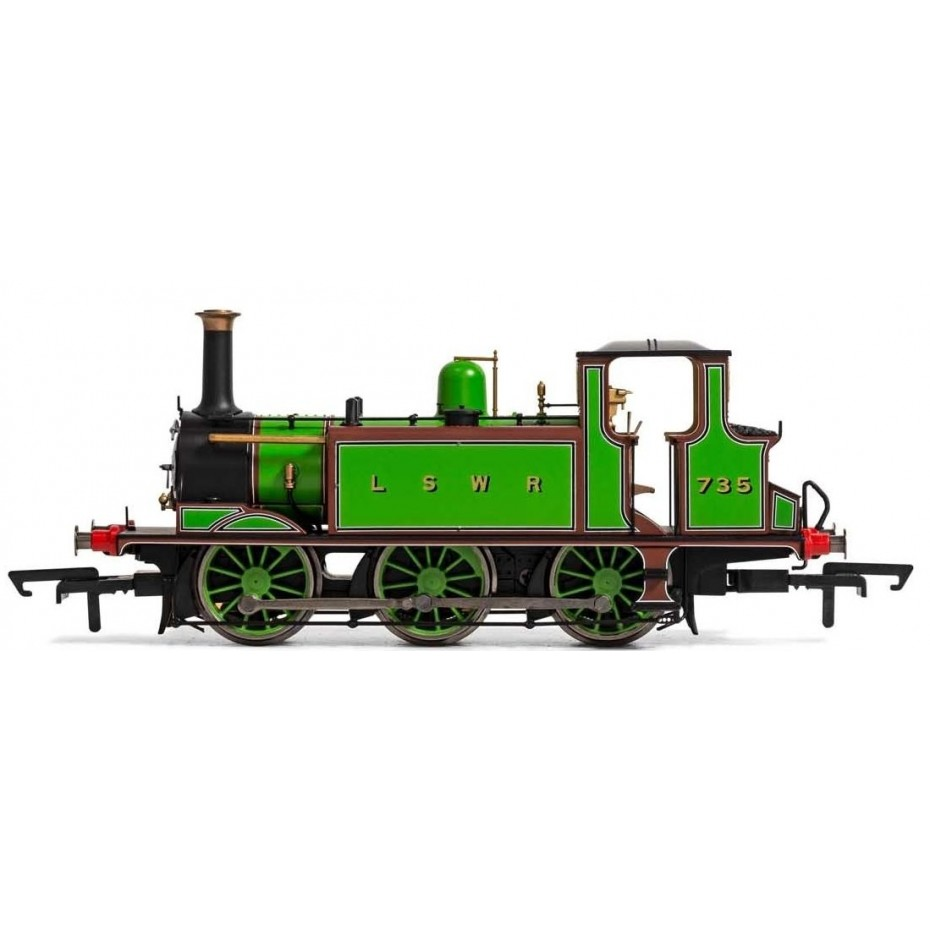 HORNBY - R3846X - LSWR TERRIER 060T 735 DCC FITTED