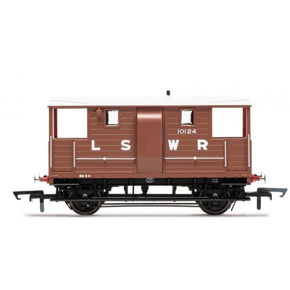 HORNBY - R6911B - LSWR 20T BRAKE VAN OO SCALE