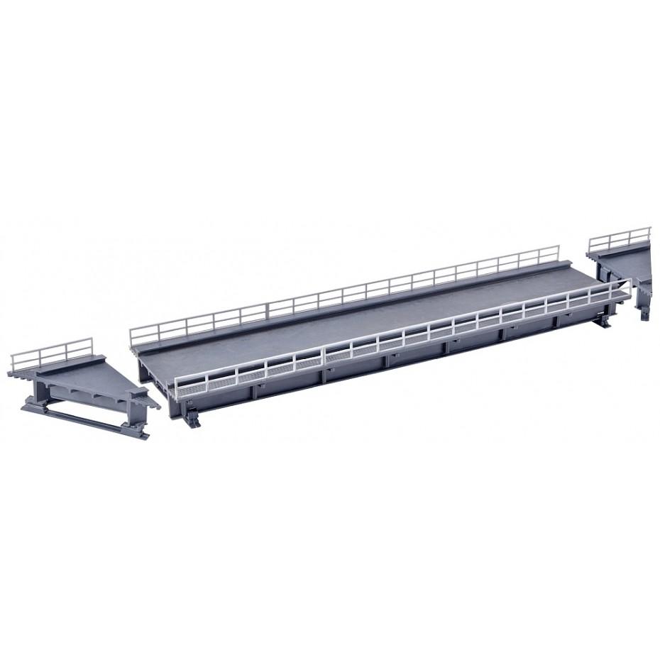 Kibri - 39705 - H0 Steel girder bridge straight, single track