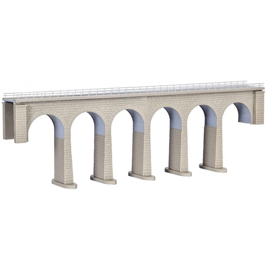 Kibri - 37663 - N/Z Ravenna viaduct with ice breaking foundations,single track