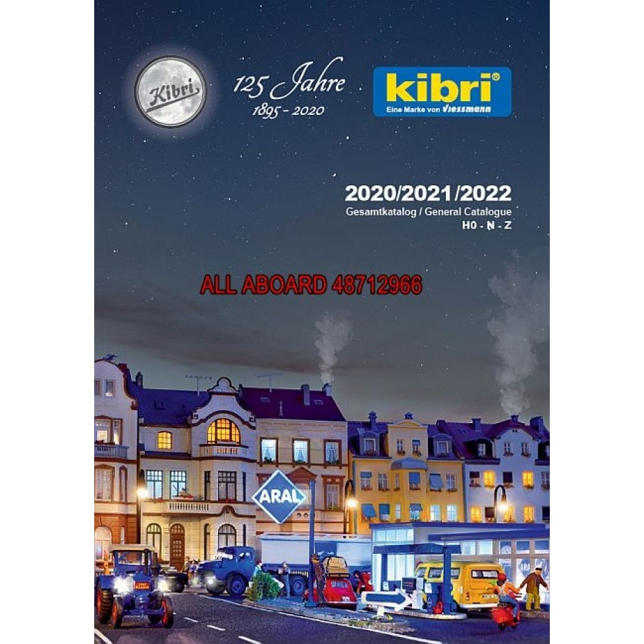 Kibri - 99904 - kibri catalogue 2020/2021/2022 DE/EN