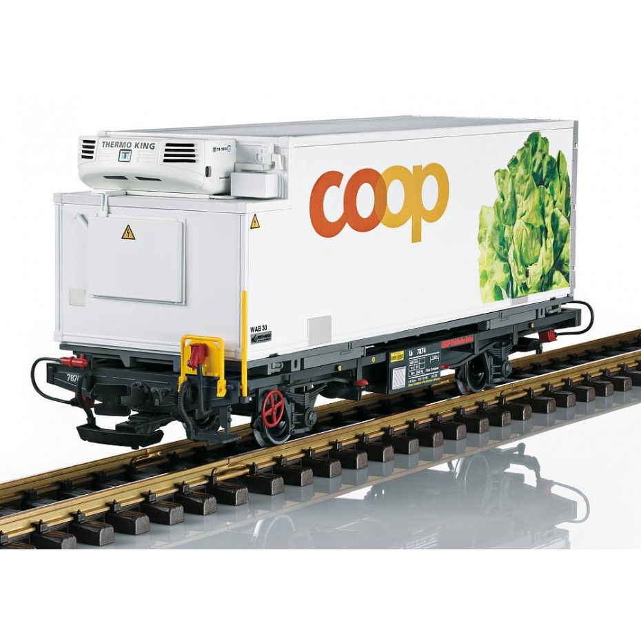 LGB - 45899 - RhB COOP Container Wagon Lettuce