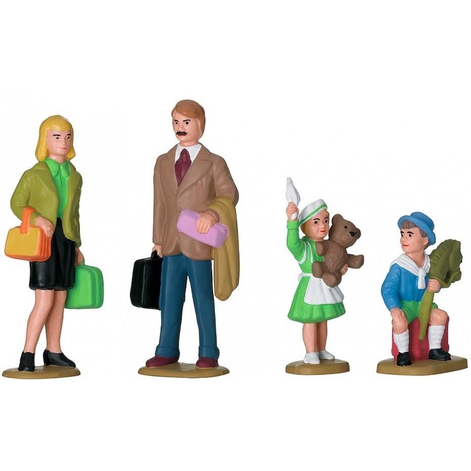 LGB - 53004 - family figure set (G Scale)