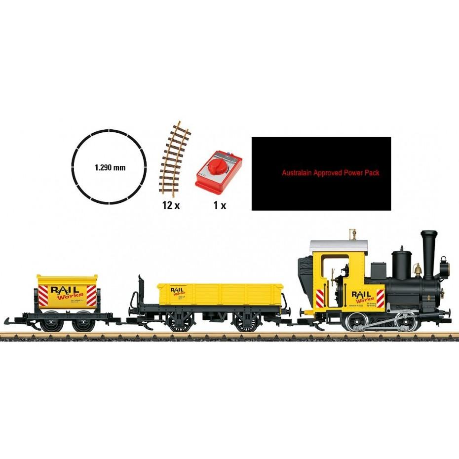 LGB - 70503 - Startset construction (G scale)