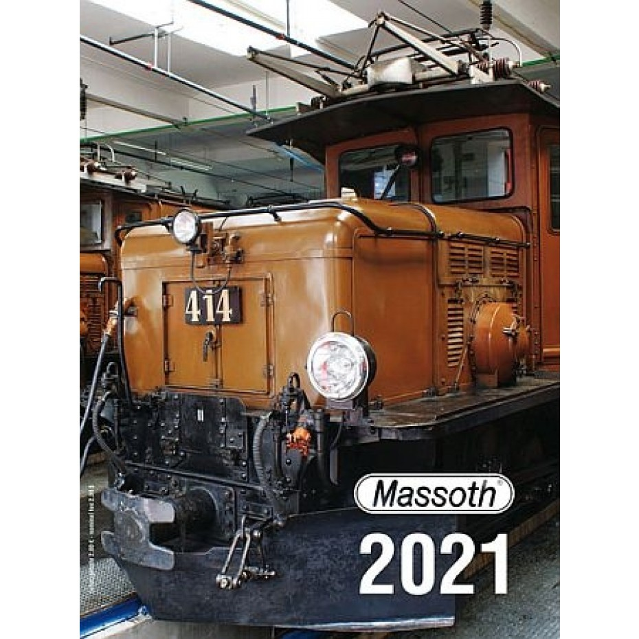 MASSOTH - 8000111 - 2021 Catalogue - G Scale