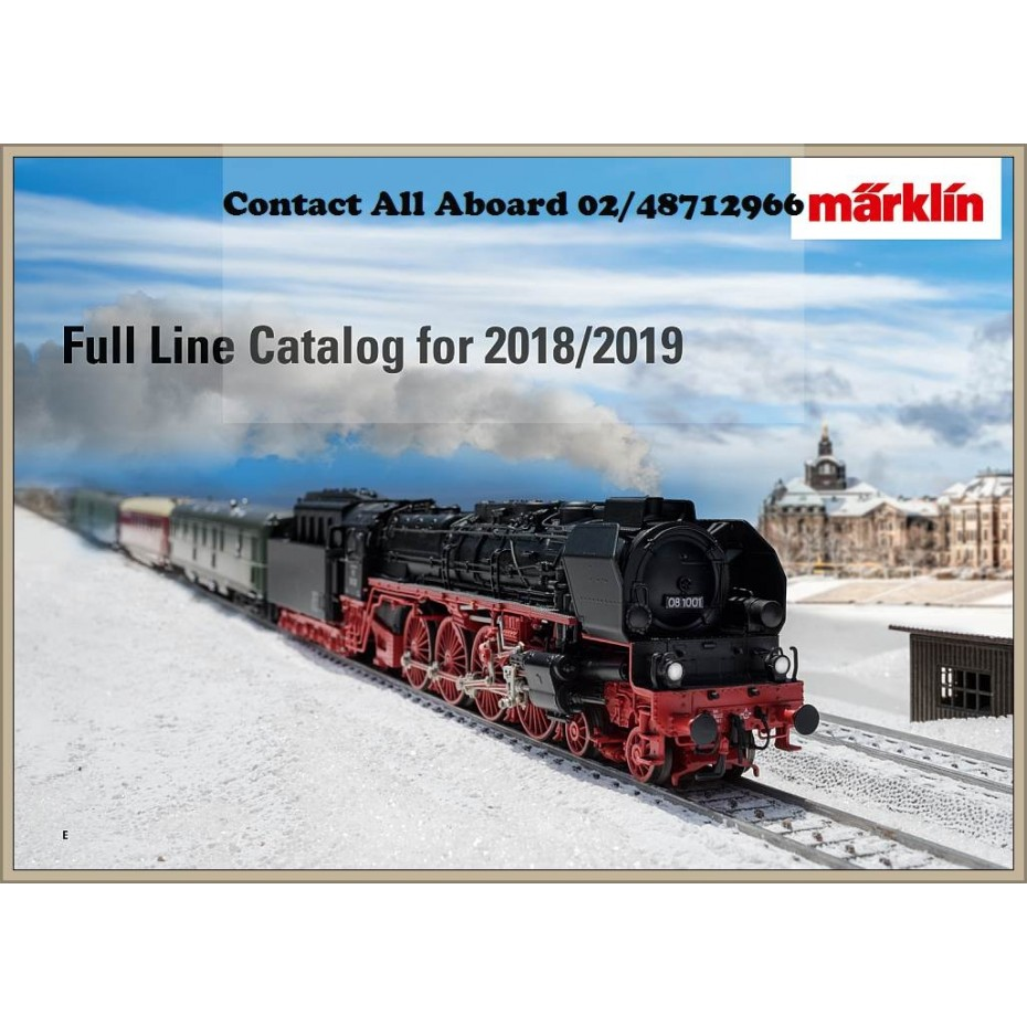 Marklin - 15762 - Marklin Full Catalogue English Text