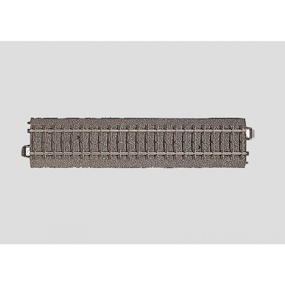 MARKLIN - 24172 - C  TRACK STRAIGHT TRACK (HO SCALE)3rail track