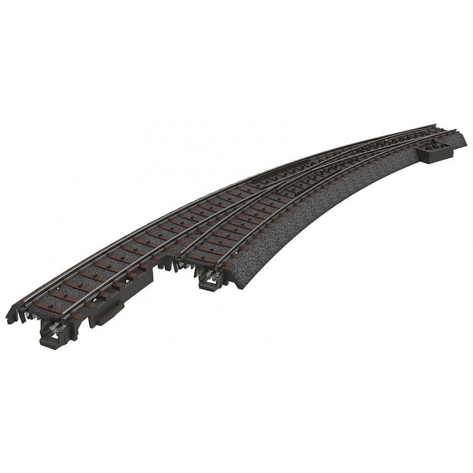 MARKLIN - 24771 - Left Curved Turnout (C Track) (HO SCALE)