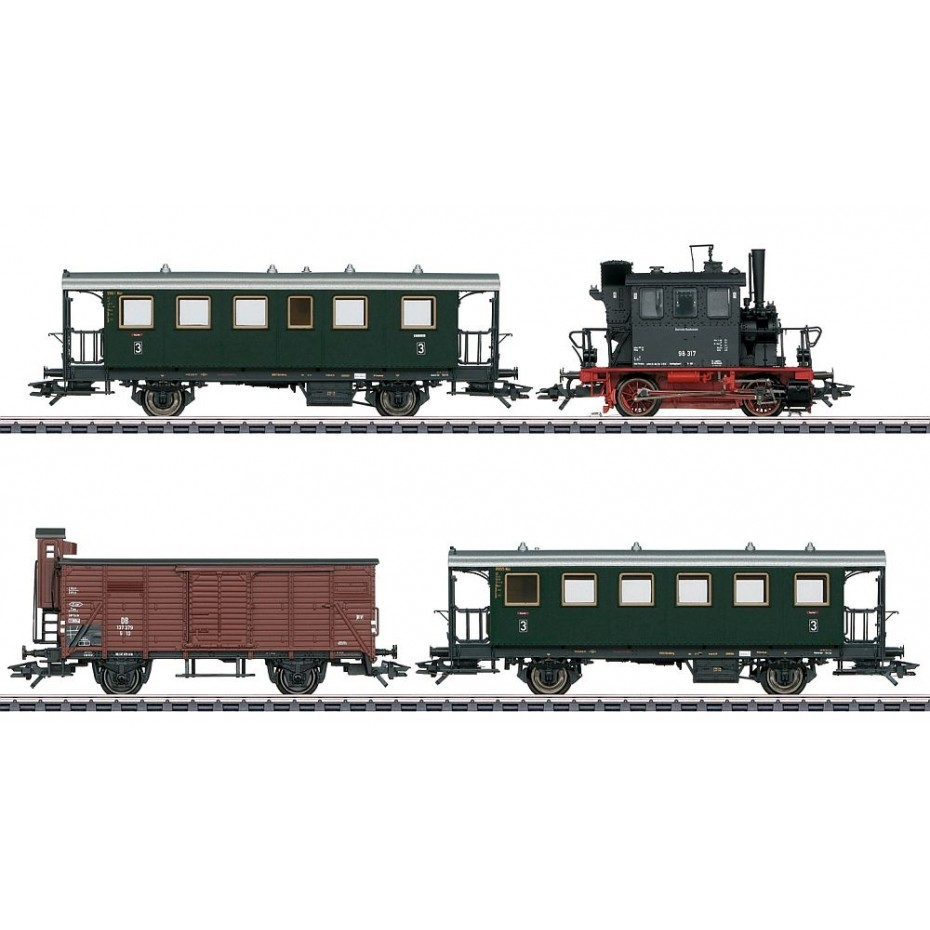 MARKLIN - 26609 - train package Glaskasten PmG DB (HO SCALE)