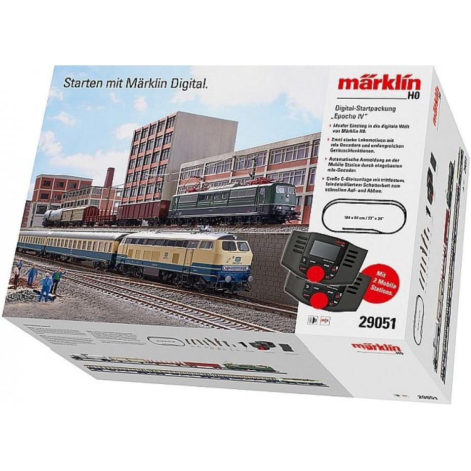 MARKLIN - 29051 - Dgtl starter set Epoch IV (HO SCALE)