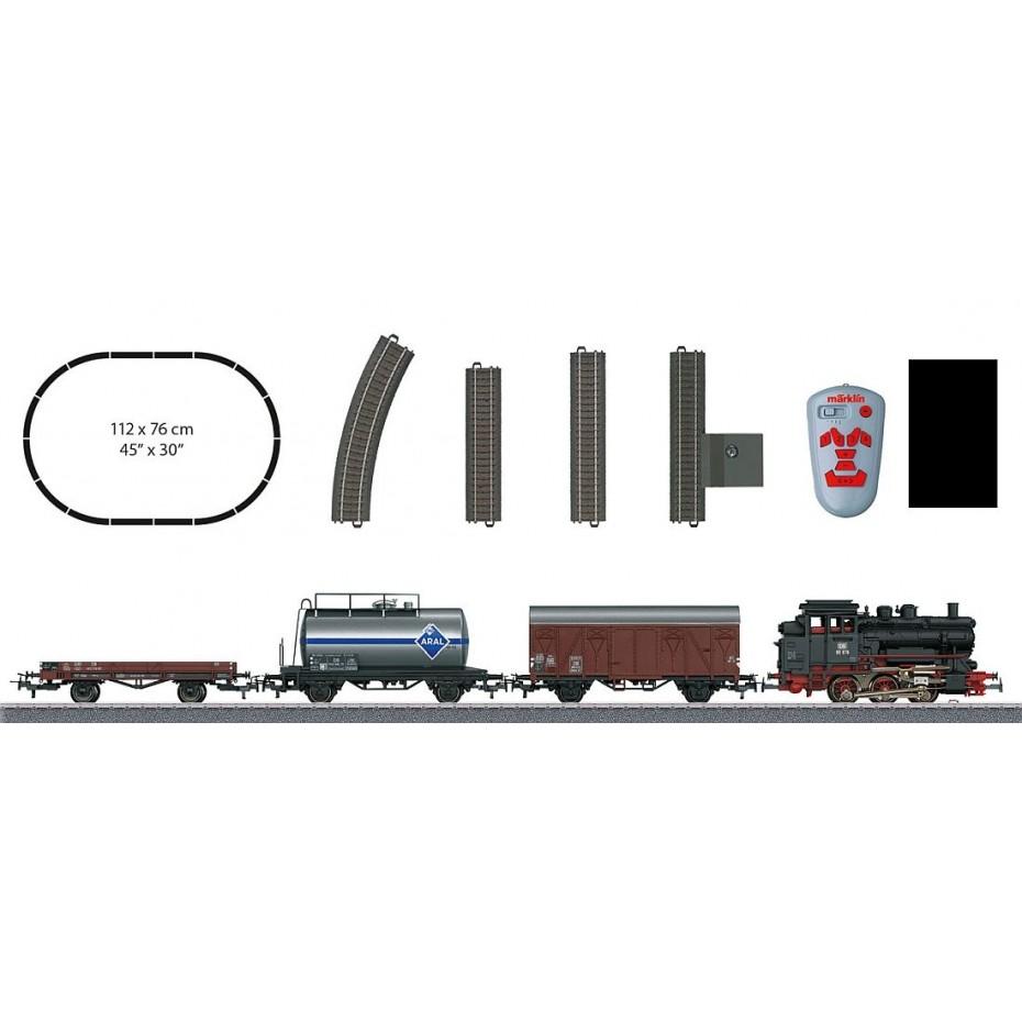 MARKLIN - 029323 - Starter Set ing goods train HO 3 rail