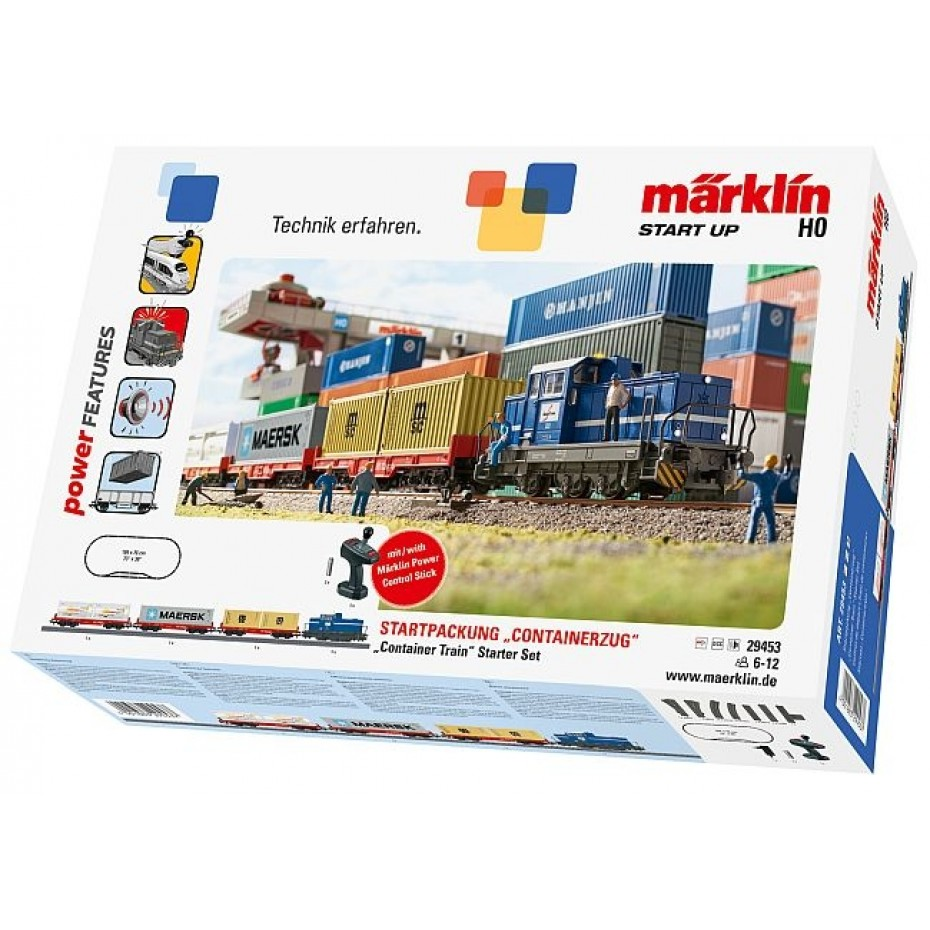 MARKLIN - 29453 - Starter Package Containerzug - P (HO SCALE)