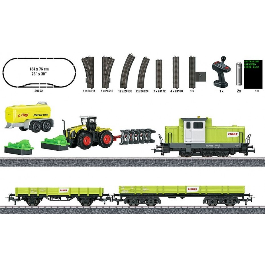 MARKLIN - 29652 - Starter package farming (HO Scale)