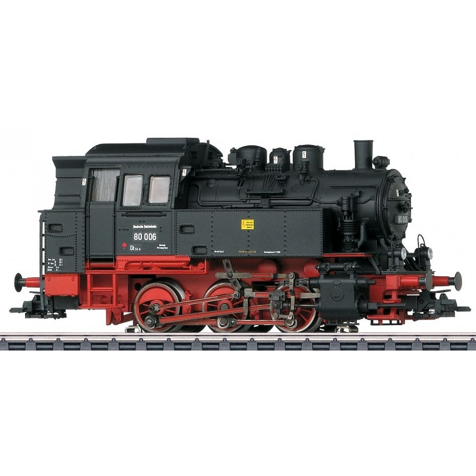 MARKLIN - 37063 - Steam locomotive BR 80 DR (HO SCALE)
