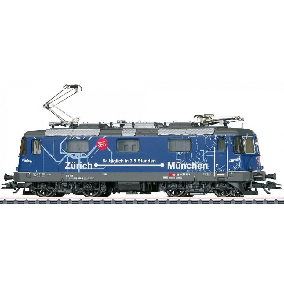 Marklin - 37473 - Cl RE 421 electric loco SBB Class Re 421 Electric Locomotive (HO Scale)