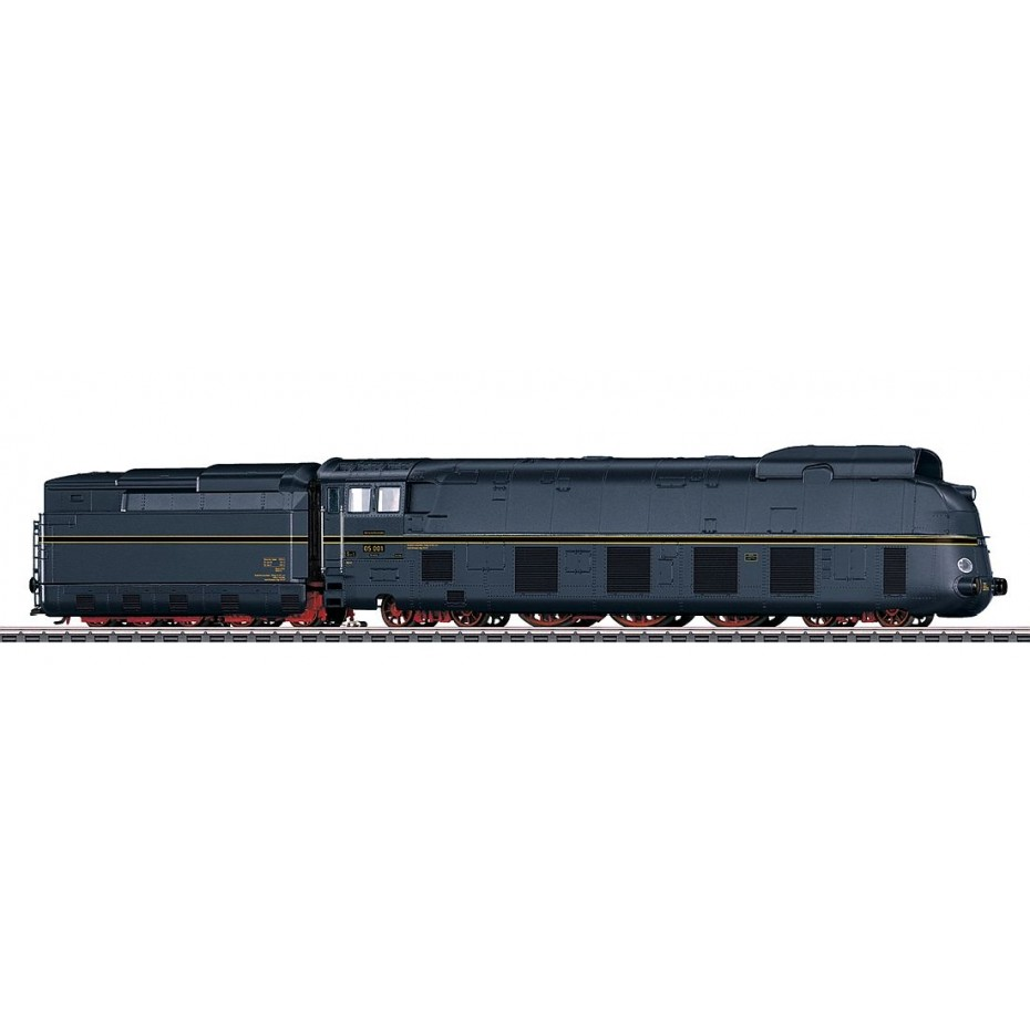 MARKLIN - 39058 - Streamline-Steam Loco BR 05 blue (HO SCALE) *3 RAIL AC*