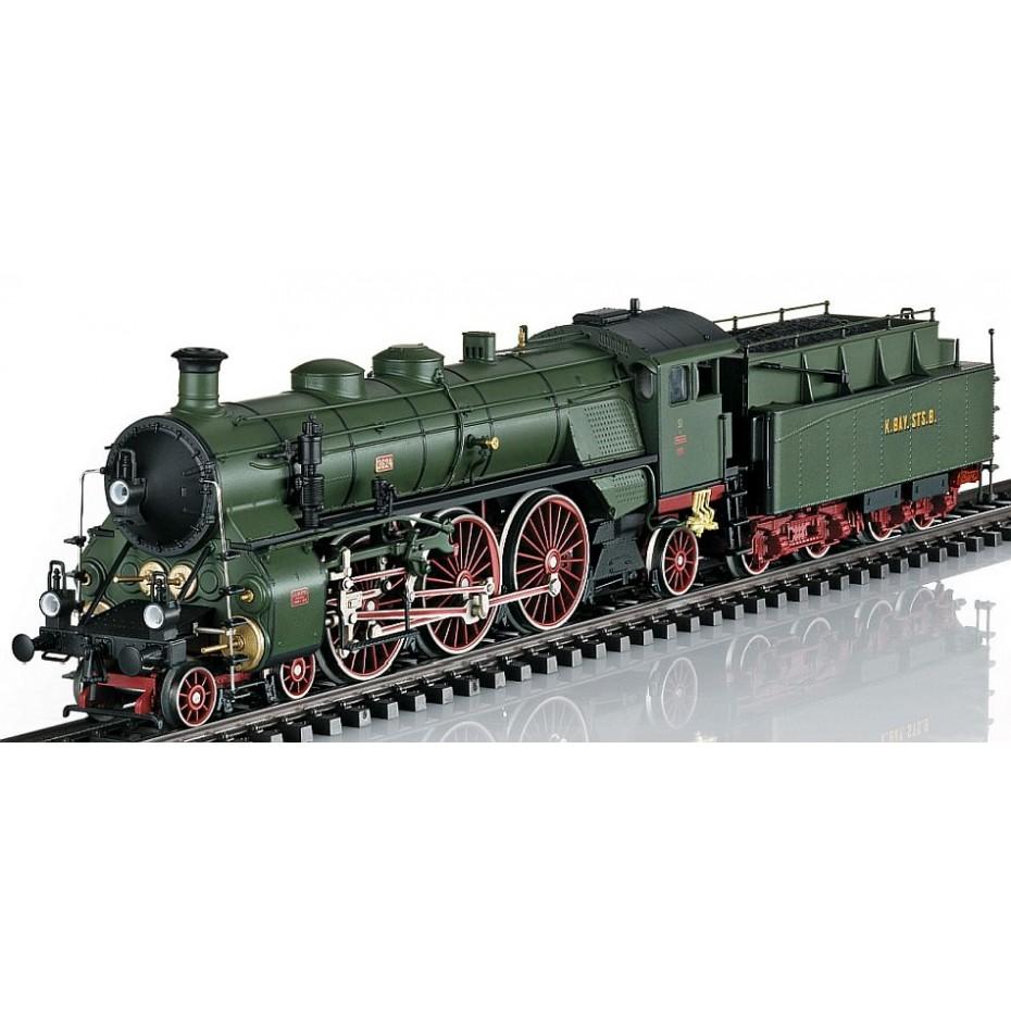 MARKLIN - 39436 - Cl S 3/6 Steam Loco - Marklin 3 rail AC