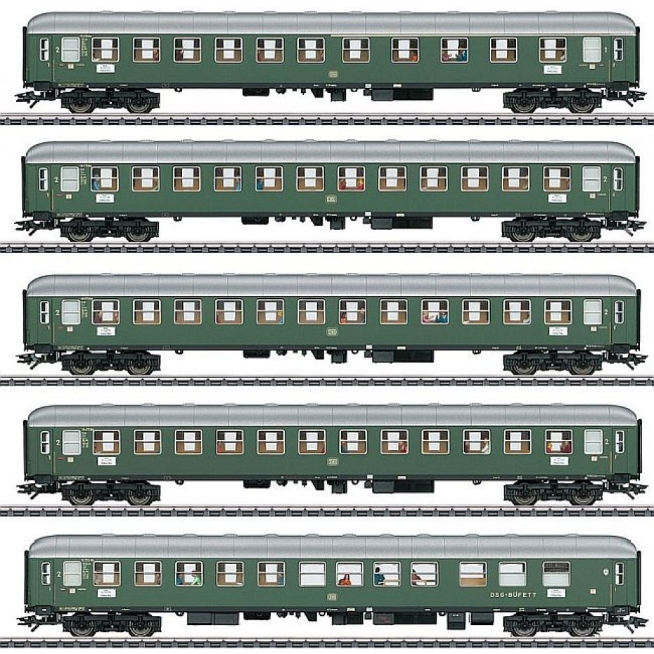 MARKLIN - 43935 - Express train-Set 1 D96 zur (HO Scale)