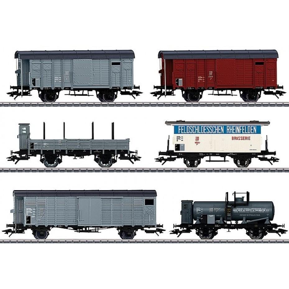 MARKLIN - 46520 - Goods carriage-Set zu Köfferli SB (HO Scale)