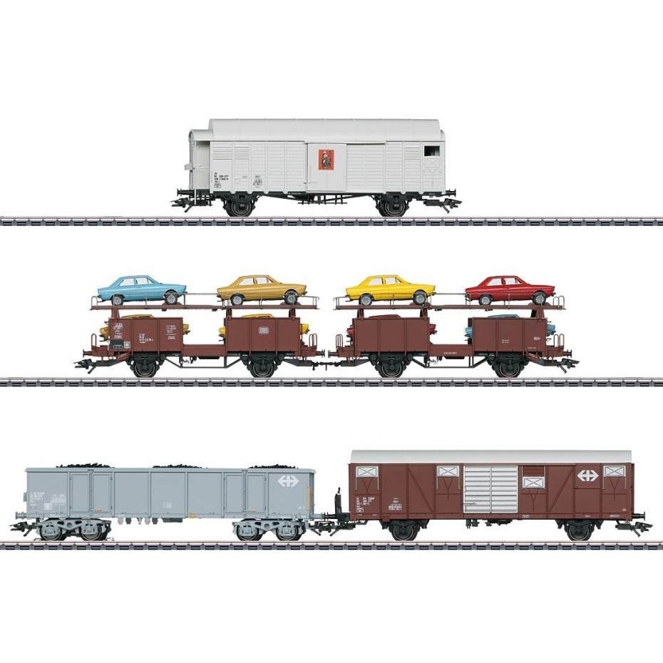 MARKLIN - 46567 - Freight train set (HO SCALE)