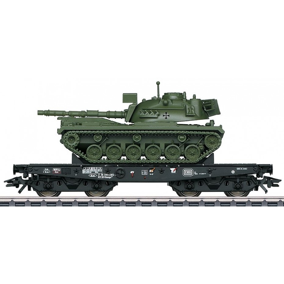 MARKLIN - 48798 - Heavy load carriage Rlmmp m.M48 D (HO Scale)