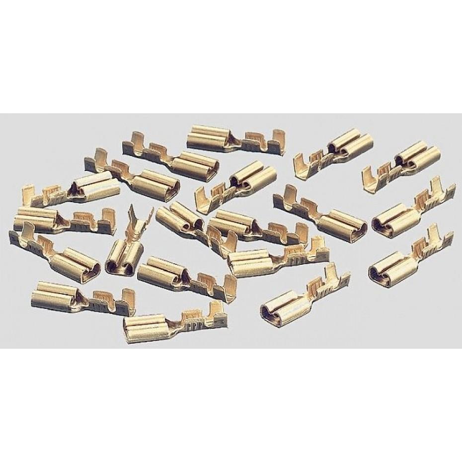 MARKLIN - 074995 - Female spade connectors (INH20 used) HO 3 rail