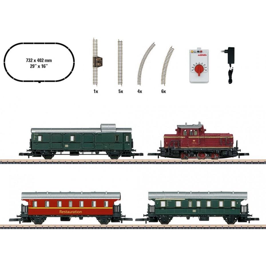 MARKLIN - 81871 - Startset Museumstrain (Z SCALE)