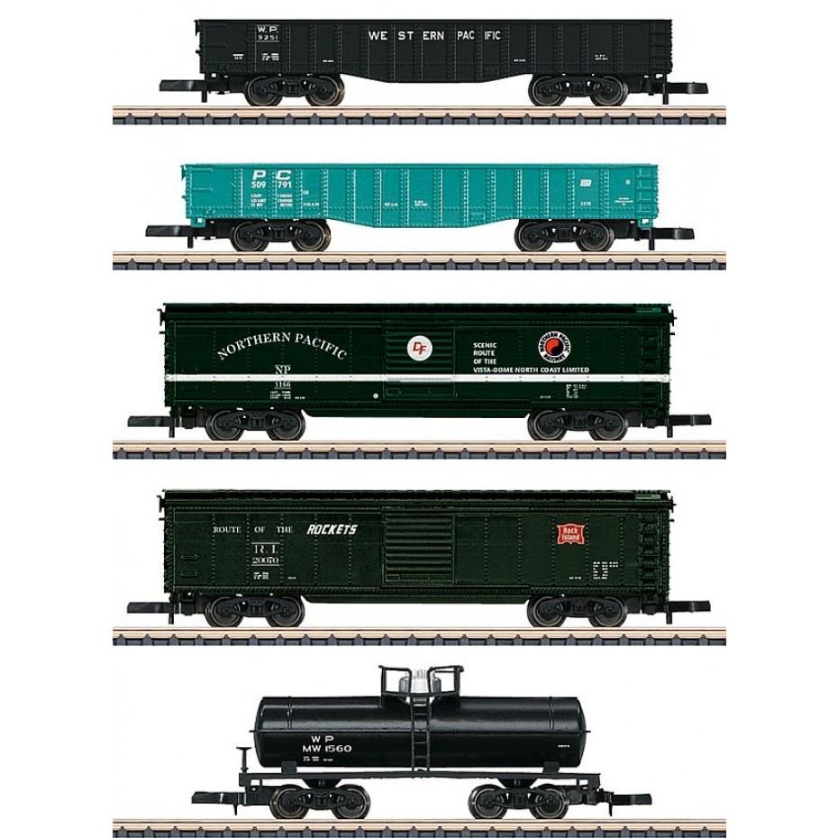 Marklin - 82498 - American Freight Car Set (Z Scale)