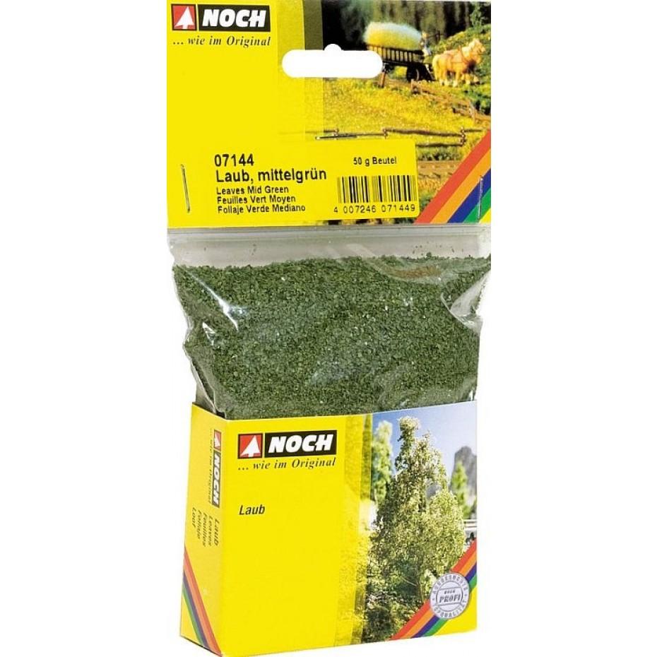 NOCH - 07144 - Leaves mid green, 50 g G,0,H0,TT,N,Z