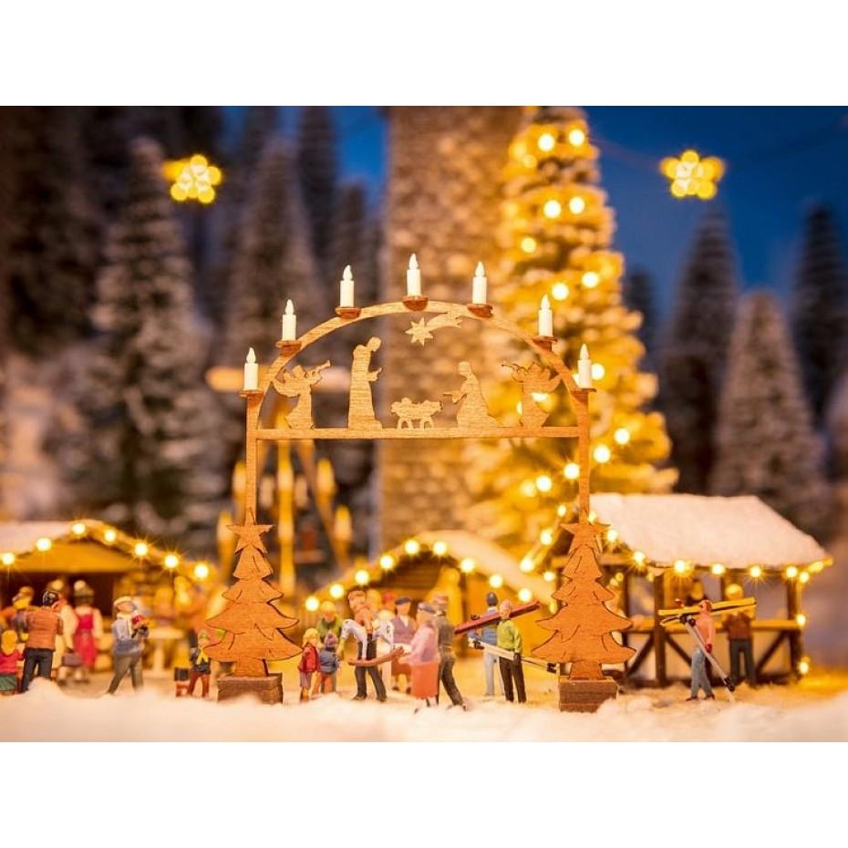 NOCH - 14391 - Christmas Market Entry Arch H0