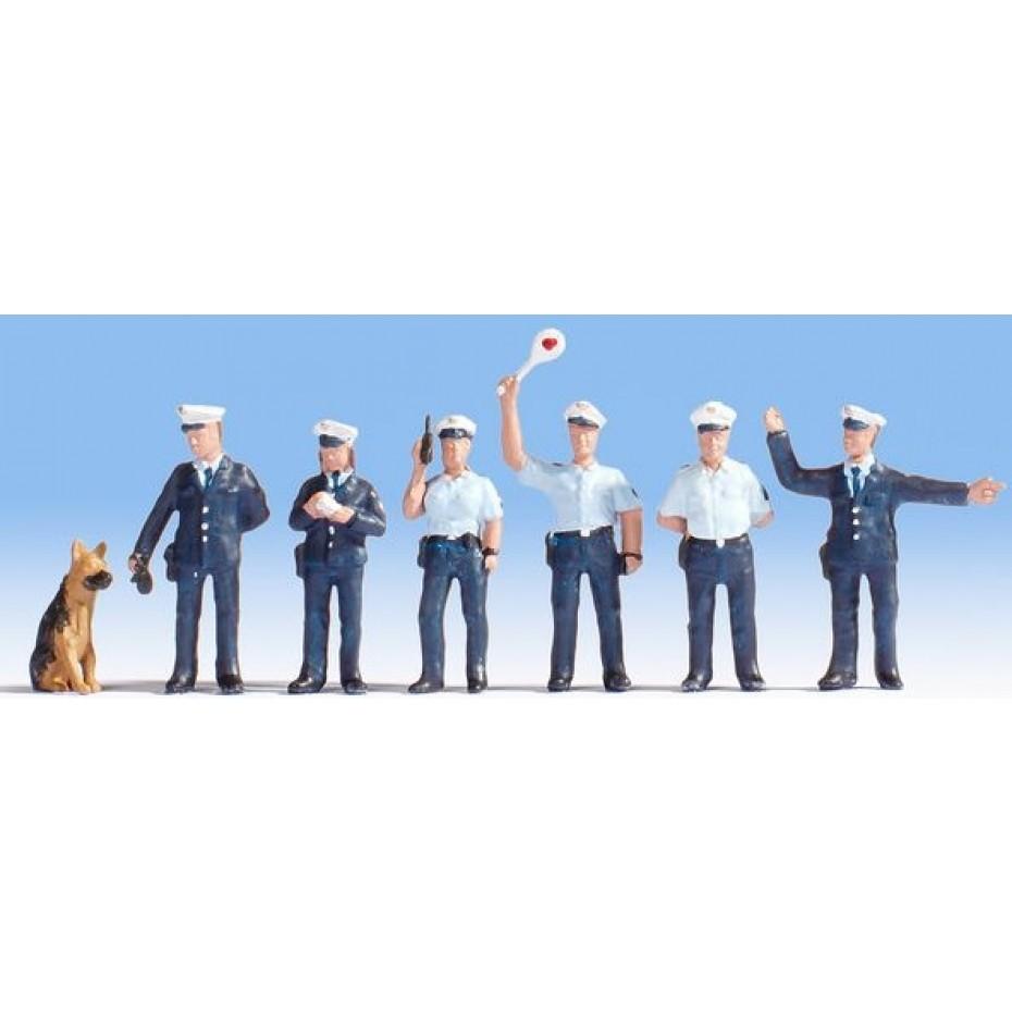 NOCH - 15091 - Police Officers, blue uniform H0