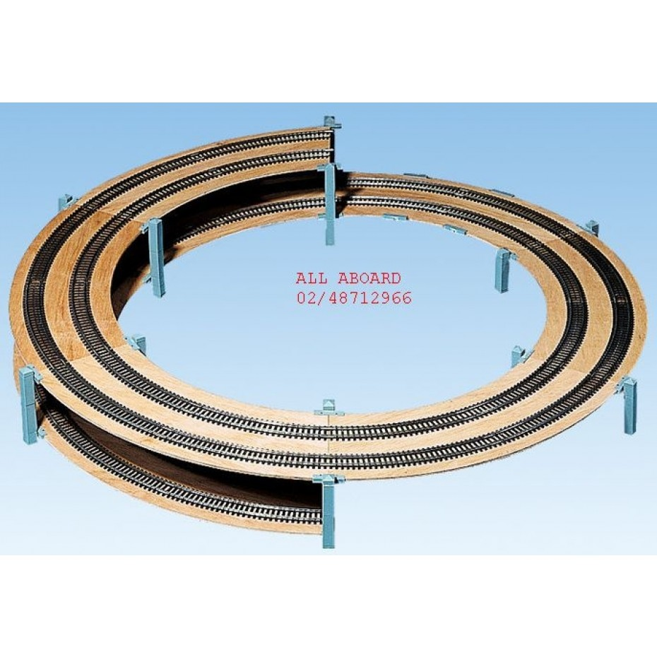 NOCH - 53005 - LAGGIES Basic Helix, track radius 420/483 mm, single or double track H0