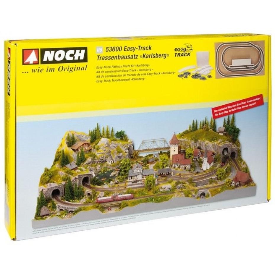 NOCH - 53600 - Easy-Track Railway Route Kit Karlsberg H0 SCALE
