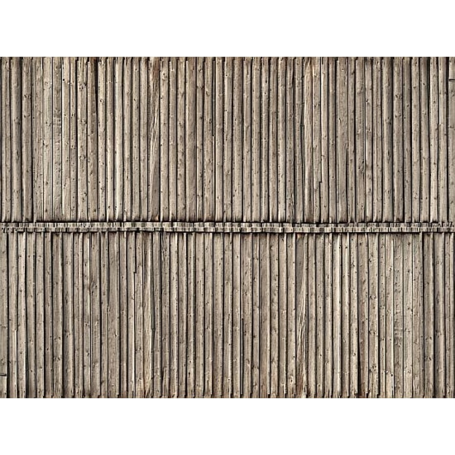 NOCH - 56664 - 3D Cardboard Sheet Timber Wall H0