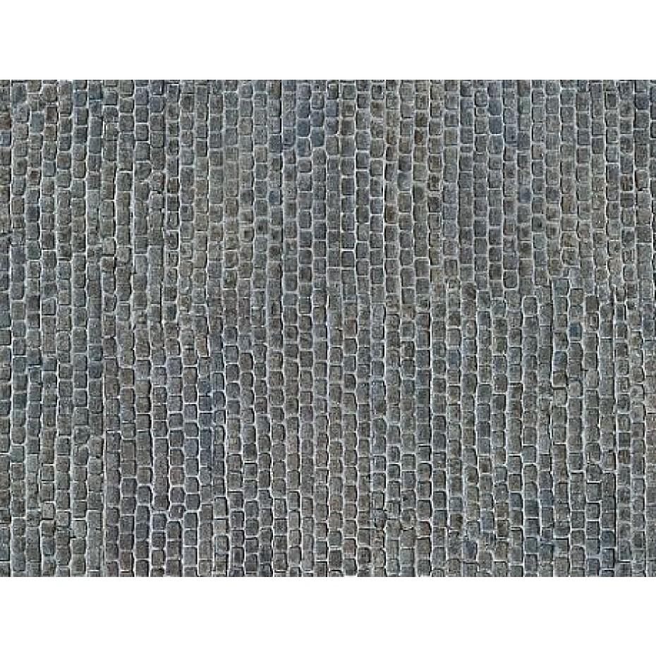 NOCH - 56721 - 3D Cardboard Sheet Old Town Pavement H0