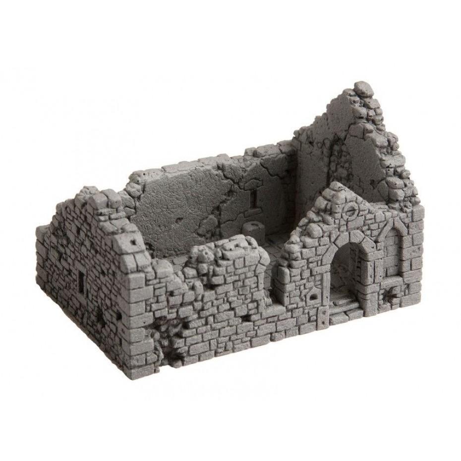 NOCH - 58611 - Chapel Ruin 10,5 cm x 6,7 cm, 6,7 cm high H0
