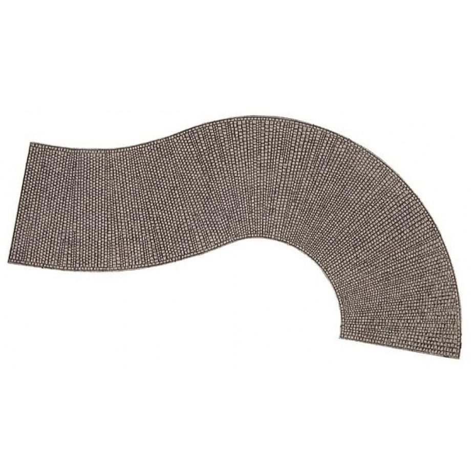 NOCH - 60316 - Structure Curve Cobblestone-H0