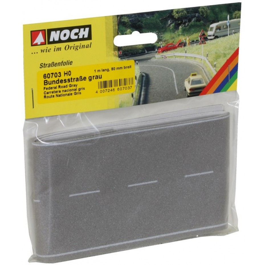 NOCH - 60703 - Federal Road grey, 100 x 8 cm H0