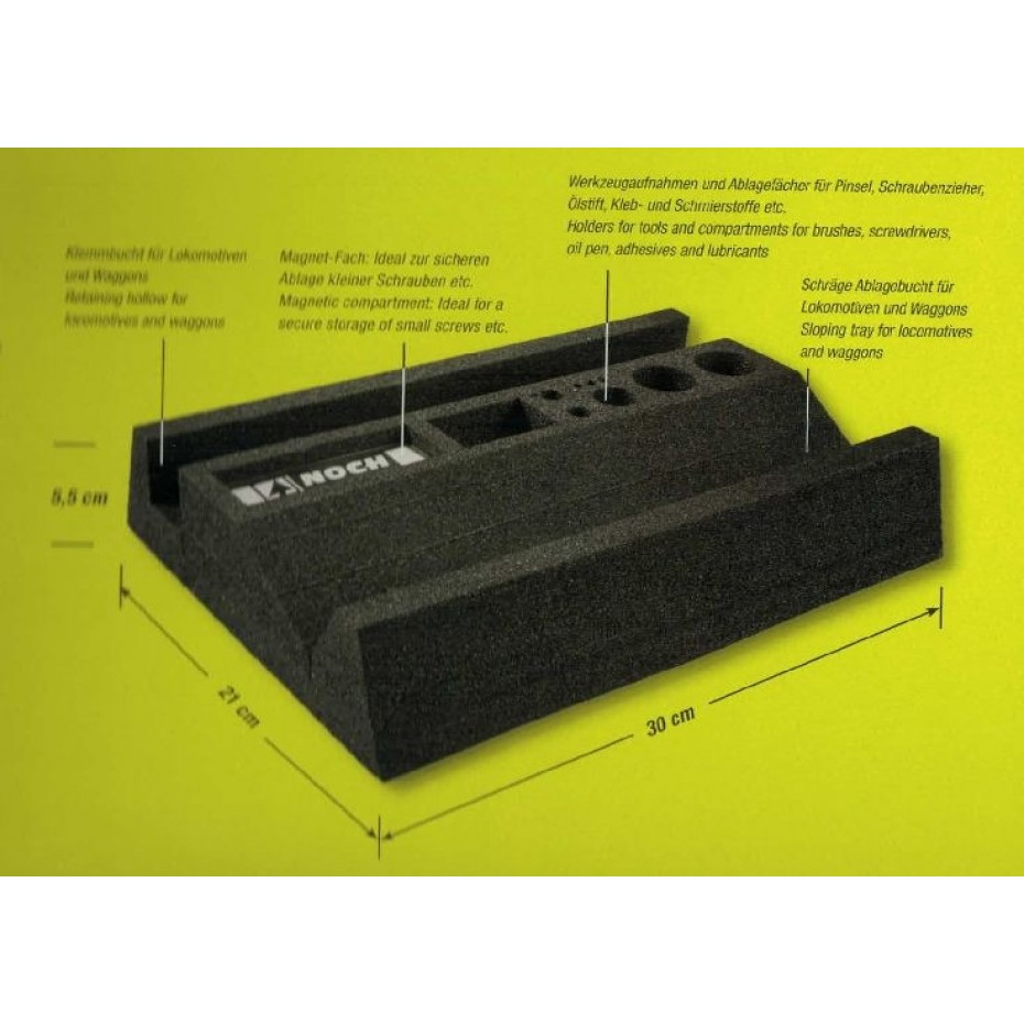 NOCH - 99355 - PROFI Foam Train Service Tray H0,TT
