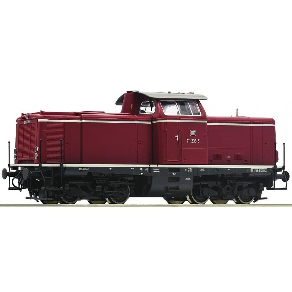 ROCO - 52527 - Diesel loco cl.211 DB ep.IV DB HO scale